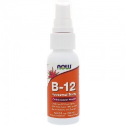 NOW FOODS Witamina B12 Liposomal SPRAY, 60 ml B-12