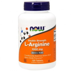 NOW FOODS L-Arginine 1000 mg , 120 tab ARGININA
