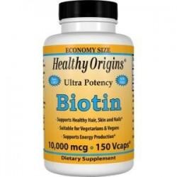 Healthy Origins Biotyna 10,000MCG 150kaps
