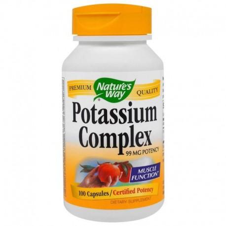 Nature's Way Potas kompleks 99 mg 100 kapsułek