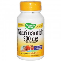 Nature's Way Niacinamide 500 mg 100 kapsułek
