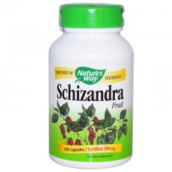 Nature's Way Schizandra Fruit, 580 mg 100 kapsułek
