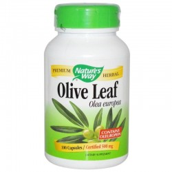 Nature's Way Liście Oliwki Olive leaf 500 mg x100