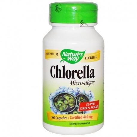 Nature's Way Chlorella z mikro alg 410 mg 100 kap