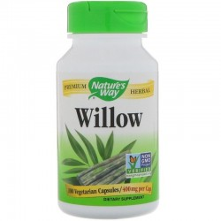 Nature's Way Willow, 400 mg 100 kapsułek