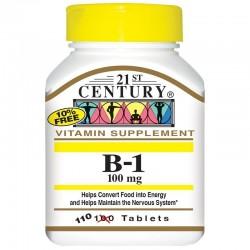 21st Century Witamina B1 100 mg 110 tabletek