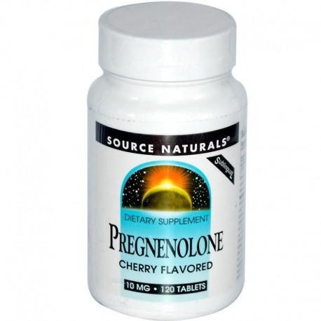 Source Naturals Pregnenolon 10mg, 120tab.