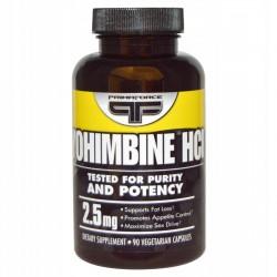 Primaforce JOHIMBINA, Yohimbine HCl 2.5 mg 90kaps