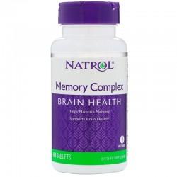 Natrol Memory Complex, 60 tabletek
