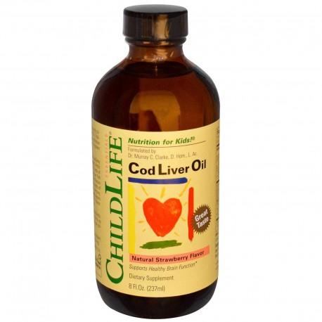 ChildLife olej z wątroby dorsza truskawka 237 ml