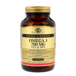 SOLGAR, Omega-3 EPA DHA, 700 mg, 60 kapsułek