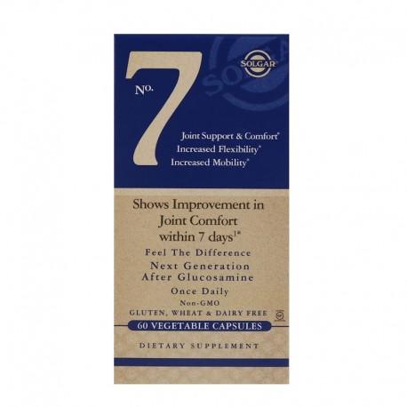 SOLGAR, No. 7 NA STAWY Joint Support 60 kapsułek