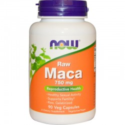 NOW FOODS MACA 6:1 750mg 90 kapsułek