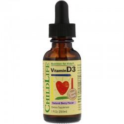 ChildLife Płynna witamina D3 dla dzieci 29,6 ml