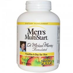 Natural Factors Multiwitamina Dla mężczyzn 120 tab