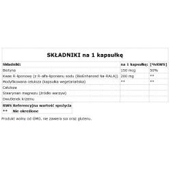 MRM,Melatonina 3mg 60 kaps.