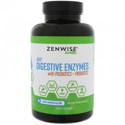 Zenwise Enztymy trawienne z probiotykami 180 kaps