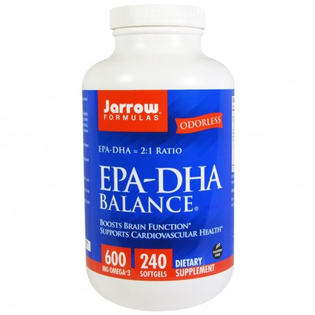 JARROW EPA-DHA 240kap OCZYSZCZONA OMEGA-3