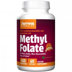 JARROW Methyl Folate 400 µg 60 kapsułek