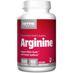 JARROW L-arginina 1000mg 100 tabletek