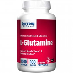JARROW L-glutamina 1000mg 100 tabletek