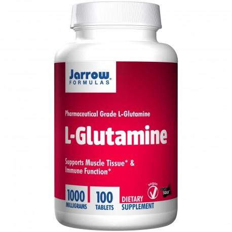 JARROW L-glutamina 1000mg 100 tabletek