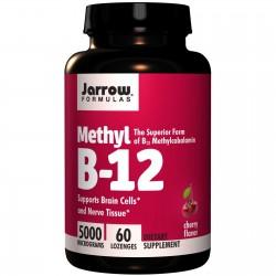 JARROW Witamina B12 metylokobalamina 5000mcg x60
