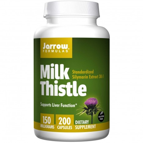 JARROW Milk Thistle Ostropest 150 mg Sylimaryna