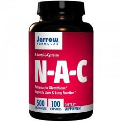 JARROW NAC - 500mg x 100 kaps N-acetylo-L-cysteina