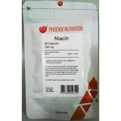 Phoenix Nutrition Niacyna 500mg 60 kaps