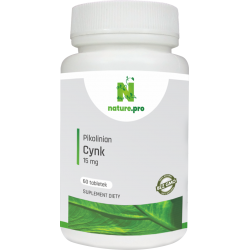 NaturePRO Cynk Pikolinian 15 mg 60 tabletek