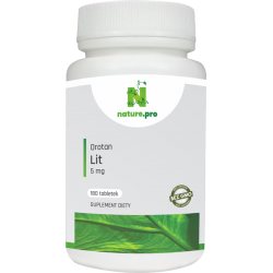 NaturePRO Lit Orotan 5mg 180 tabletek