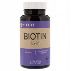 MRM Biotyna 5 mg 60 kapsułek