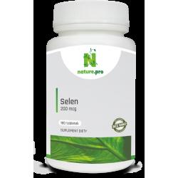 NaturePRO Selen 200 mcg 180 tabletek