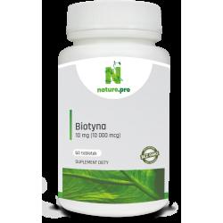 NaturePRO Biotyna 10 mg 60 tabletek