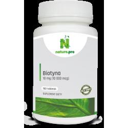 NaturePRO Biotyna 10 mg 180 tabletek