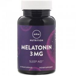 MRM Melatonina 3mg 60 kapsułek