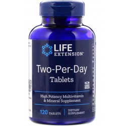 Life Extension Two Per Day MULTIWITAMINA 120 tab