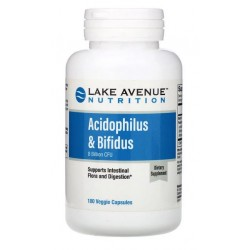 Lake Ave. Nutrition, Probiotyki 8 mld CFU 180 kaps