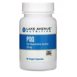 Lake Ave. Nutrition, PQQ 20 mg 60 kapsułek