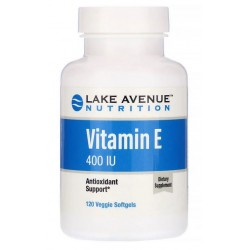 Lake Ave. Nutrition, Witamina E 400IU 120 kaps.