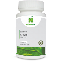 NaturePRO Chrom Pikolinian 1000 mcg 60 tabletek