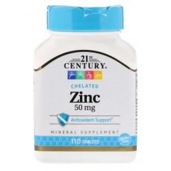 21st Century Cynk 50mg 110 tabletek