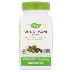 Nature's Way Wild Yam dziki pochrzyn 425 mg x180