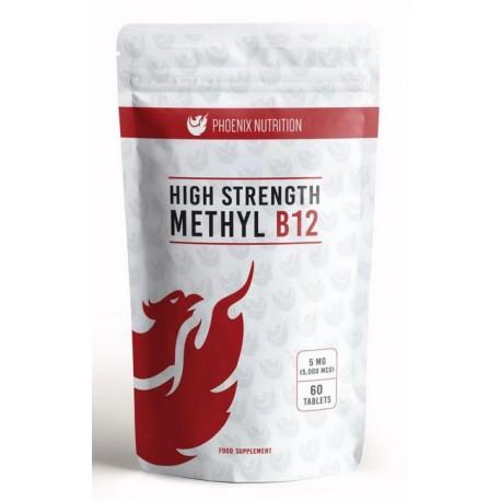 Phoenix Wit B12 Metylokobalamina 5000mcg 60tab