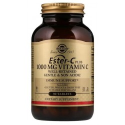 SOLGAR Ester-C Plus AŻ 90 tab. Witamina C 1000 mg