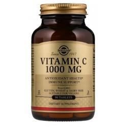 SOLGAR, Witamina C 1000 mg, 90 tabletek