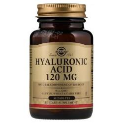 SOLGAR Kwas hialuronowy 120mg 30 tabletek BIOCELL