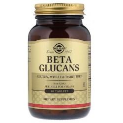 SOLGAR, Beta glukany 1'3, 1'6 60 tab. BETA GLUCANS