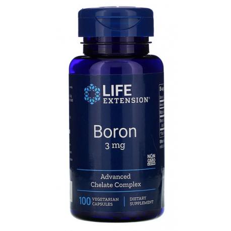 Life Extension Bor 3 mg, 100 kaps.